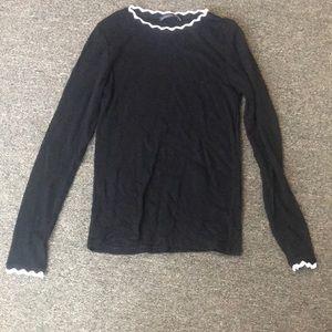 ZARA Scalloped Sweater